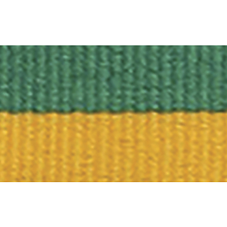 Green gold ribbon for medals $0.50