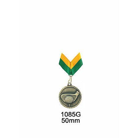 1085G gold golf medal $14.00