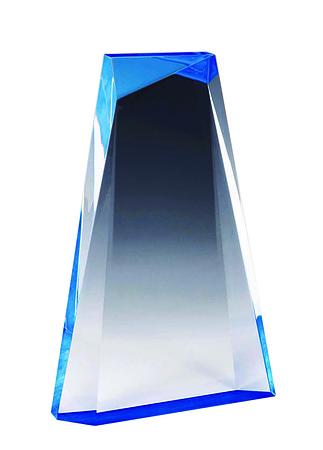 AA3821SBL blue reflective acrylic (160mm) $88.00