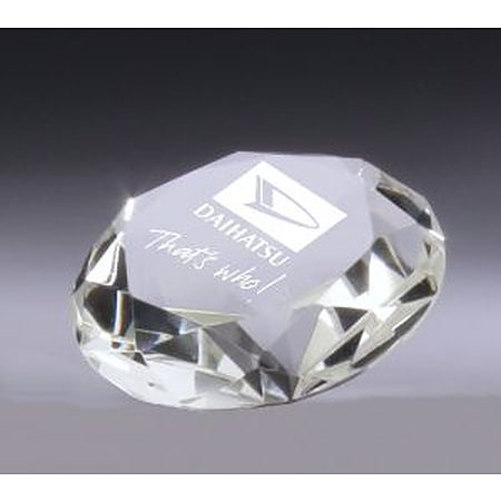 CC138M  Diamond crystal 80mm diameter in presentation case  $48.00