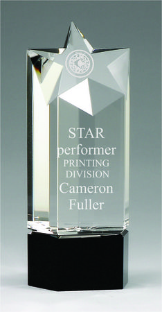 CC478M crystal star and base  $95.00