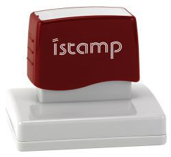 IS28 pre inked stamp (95 x 55mm printable area) $87.00