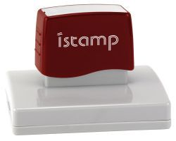 IS80 pre inked stamp (120 x 85mm printable area) $118.00