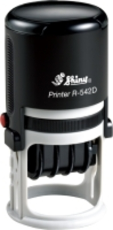 Shiny R542D self inking round dater with 40mm die plate $63.00