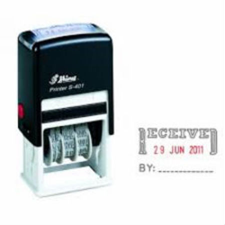 Shiny 402 self inking dater with Received By $35.00