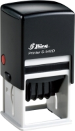 Shiny 542D self inking square dater with 40 x 40mm die plate $63.00