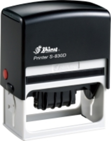 Shiny 830D self inking dater with 76 x 37mm die plate $72.00