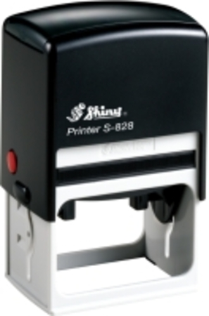 Shiny 828 self inking stamp with 56 x 33mm die plate ($48.00)