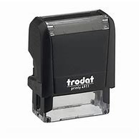 Trodat 4911 (38 x 14mm die plate) self inking stamp $28.00