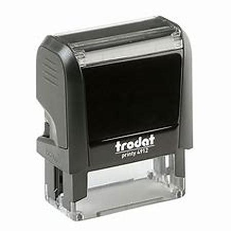 Trodat 4912 (47 x 18mm die plate) self inking stamp $35.00