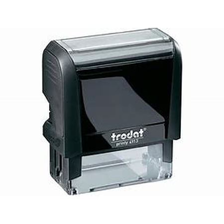 Trodat 4913 (58 x 22mm die plate) self inking stamp $39.00