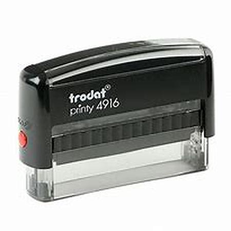 Trodat 4916 (70 x 10mm die plate) self inking stamp $38.00
