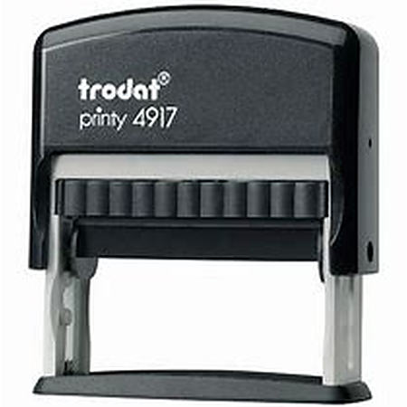 Trodat 4917 (50 x 10mm die plate) self inking stamp $32.00