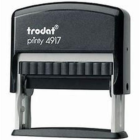 Trodat 4917 (50 x 10mm die plate) self inking stamp $32.00