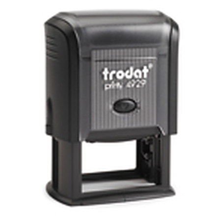 Trodat 4929 (50 x 30 mm die plate) self inking stamp $48.00