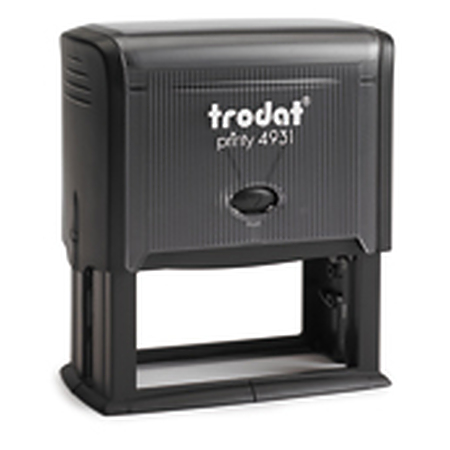 Trodat 4931 (70 x 30mm die plate) self inking stamp $49.00
