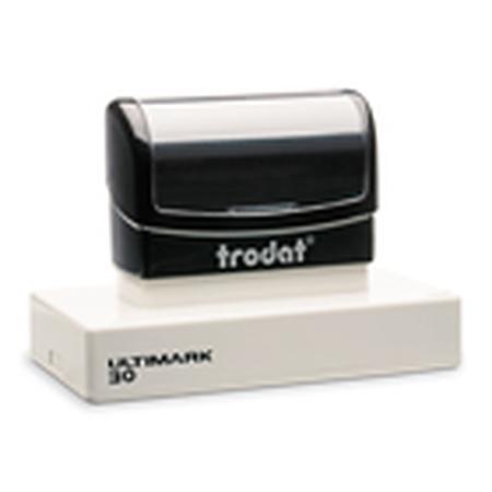 UM30 Ultimark pre inked stamp. Max printable area 97 x 46mm $78.00