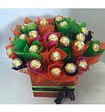 Vibrant Ferrero Rocher Bouquet