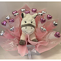 Baby Girl Chocolate Bouquet With Pony