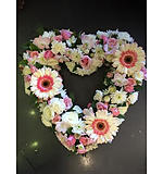 Heart Wreath Pastel
