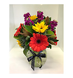 Vibrant Bouquet including Vase