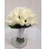 White Rose Posy