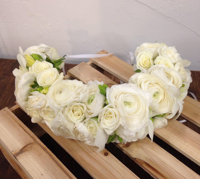 White Floral Crown