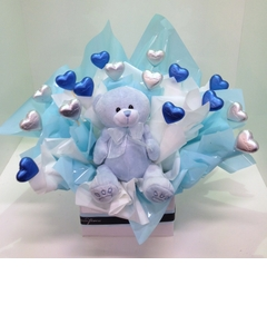 Baby Boy Chocolate Bouquet