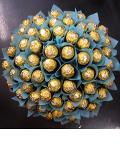 Blue Deluxe Ferrero Rocher Bouquet