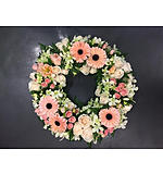 Round Pastel Grouped Wreath