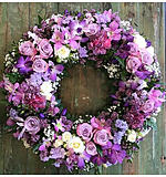 Round Wreath of Lilac