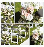 Rustic Chair Flowers