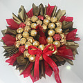 Xmas Chocolate Wreath