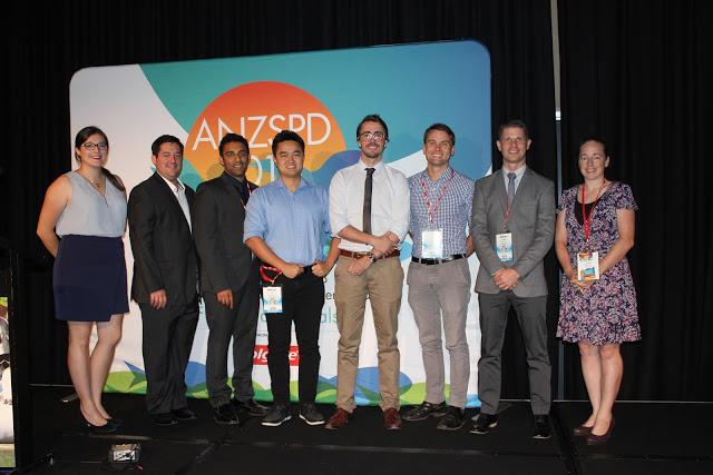 2017 ANZSPD-Colgate Postgraduate Research Award Entrants