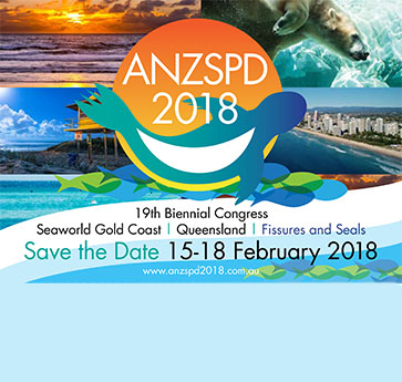 Save the date. ANZSPD Congress 2018