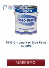 Rosco Chroma Key Blue 3.8L