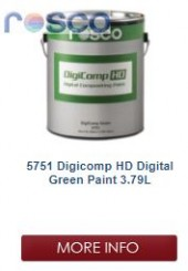 Rosco Digicomp HD Digital Green Paint 3.8L