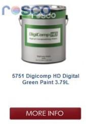 Rosco Digicomp HD Digital Green Paint 3.8L
