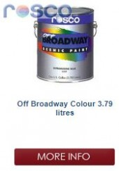 Rosco Off Broadway Paint 3.78L