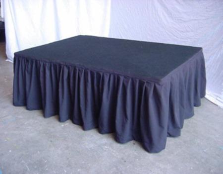 600mm+x+7metre+Black+Wool+Skirt
