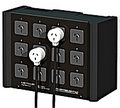 More info on METEOR+by+THEATRELIGHT+12+socket+matching+patch+outlet+box