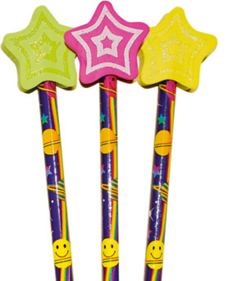 Shooting Stars Pencil Toppers (6) | Pencil Toppers | Pencil Toppers   Teaching Aids n Resources