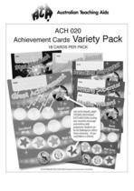 Variety Pack (18) Achievement Cards