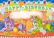 Merry-Go-Round Birthday (35) Paper Certificates