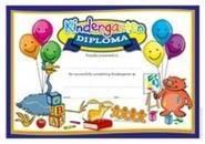 Kindergarten Diploma (35) Paper Certificates