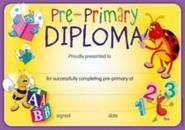 Pre-Primary Diploma (35) Paper Certificates
