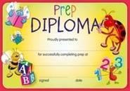 Prep Diploma (35) Paper Certificates