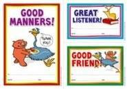 Early Years Manners (35) Paper Certificates
