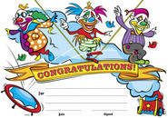 Clowns (200) Paper Certificates Discontinued