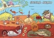Special Award Desert (200) Paper Certificates